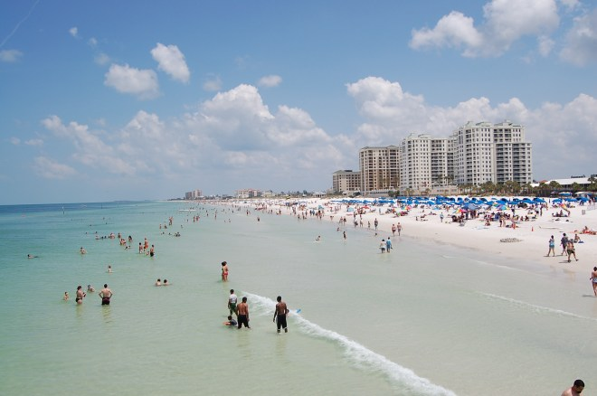 Things to do in Tampa Walk on the Clearwater Beach