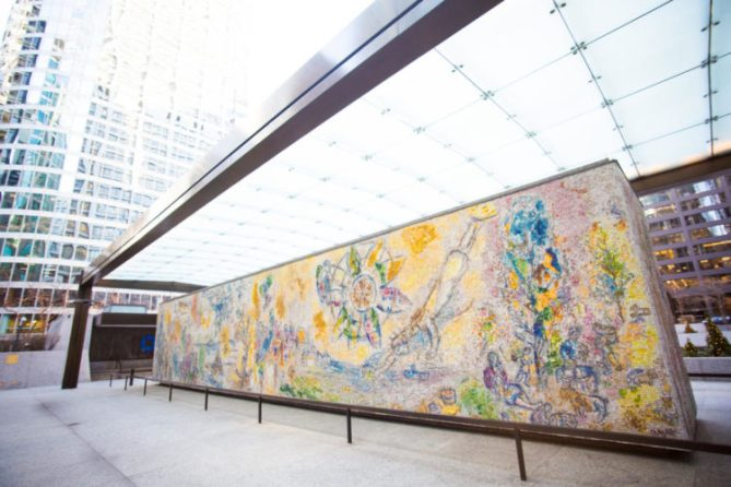 Chagall's Four Seasons Chicago