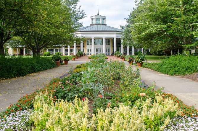 The Daniel Stowe Botanical Garden Charlotte NC