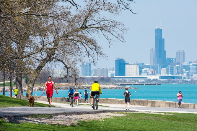Things to do in Chicago Chicago Lakefront Trail