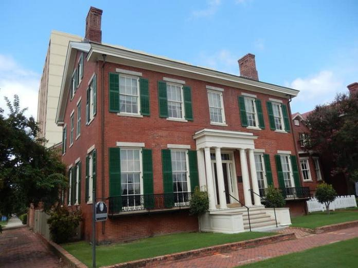 The Boyhood Home of President Woodrow Wilson