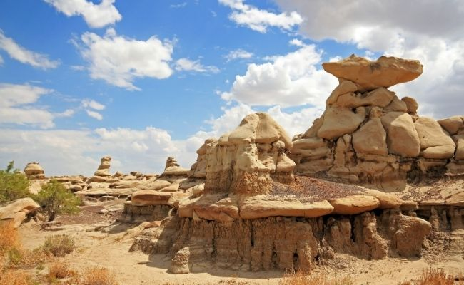 Things to Do in New Mexico Bisti Badlands