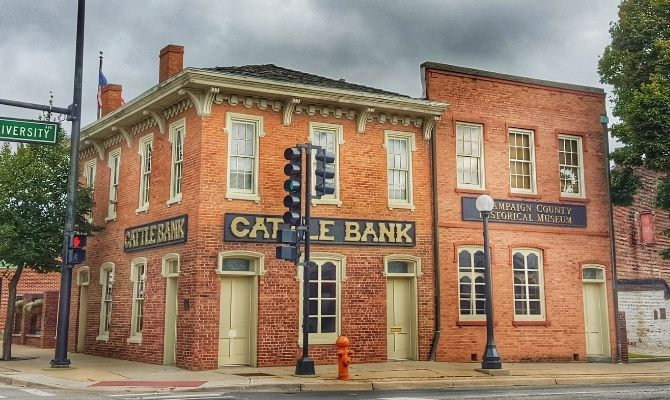 Champaign Country History Museum at the Historic Cattle Bank