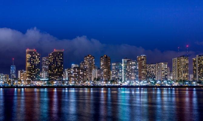 Downtown Honolulu HI