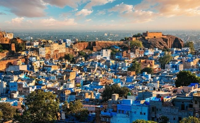 Things to do in India The Blue City
