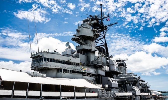 Battleship Missouri Memorial Hawaii