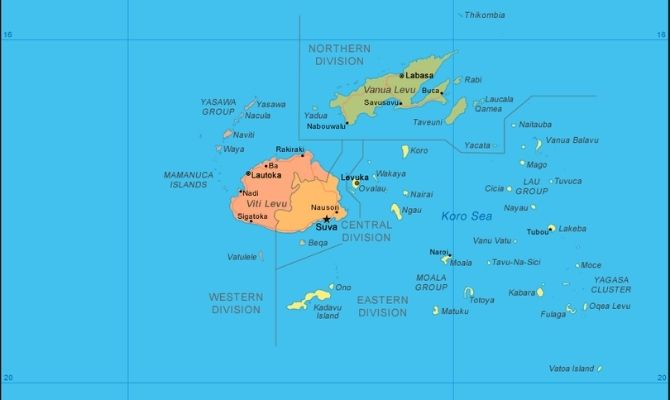 Where is Fiji