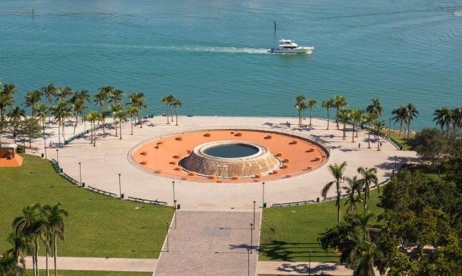 Bayfront Park Miami Florida