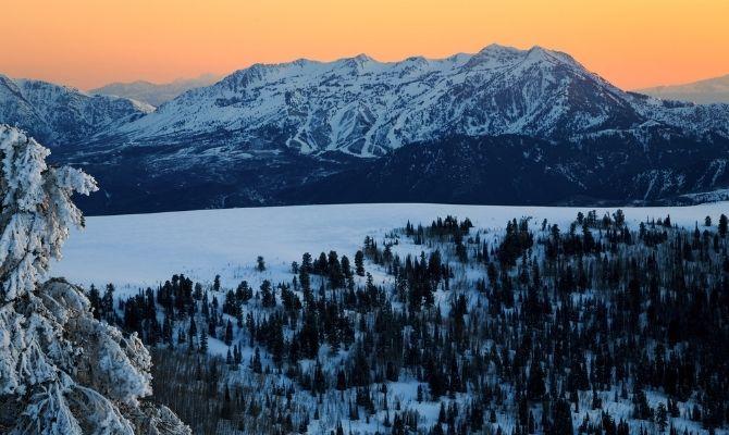 Snowbasin Ski Resort Utah