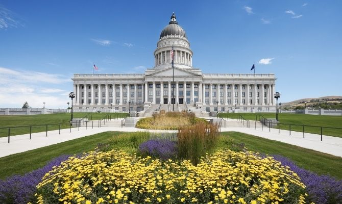 Utah State Capitol SLC