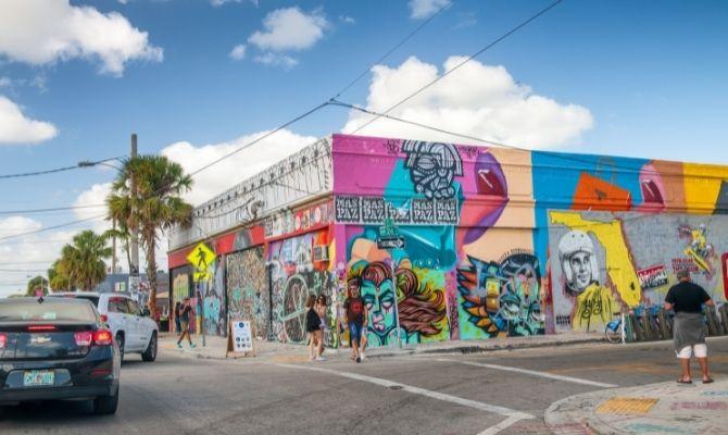 Wynwood Walls Street Art Miami FL