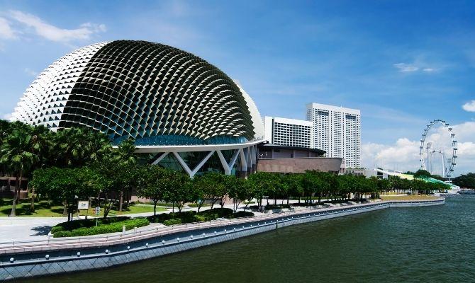 Esplanade - Theatres on the Bay, Singapore