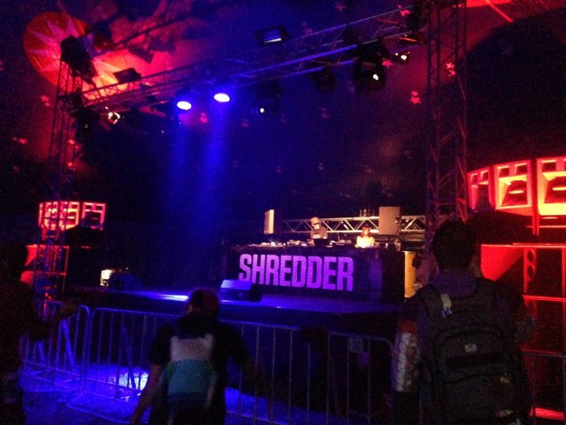 Shredder Stage at Let It Roll