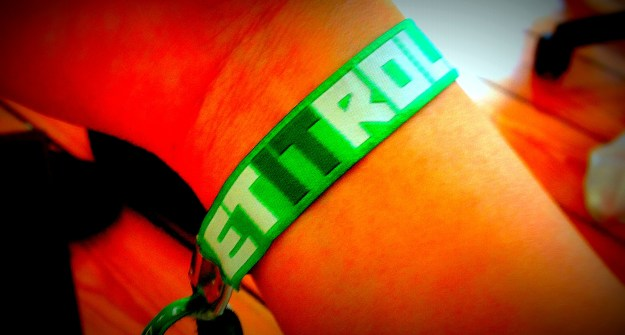 Let It Roll Wristband