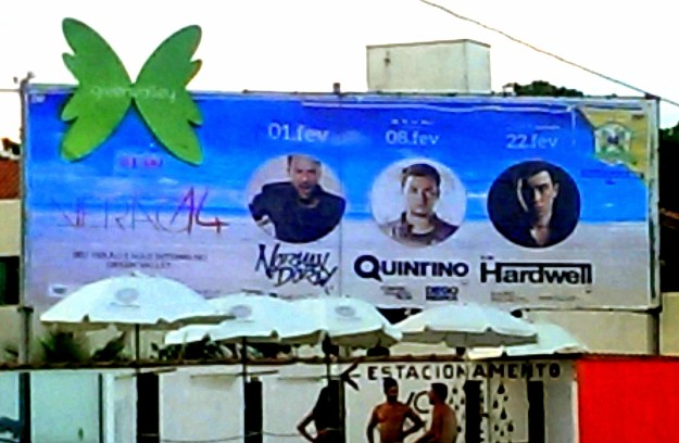 Green Valley billboard in Balneario Camboriu