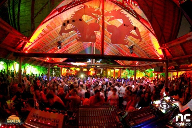 Warung Beach Club, Brazil