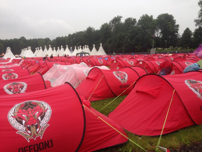 Defqon.1 Review - Easy Tent Campsite
