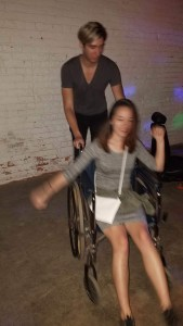 rave in wheelchair