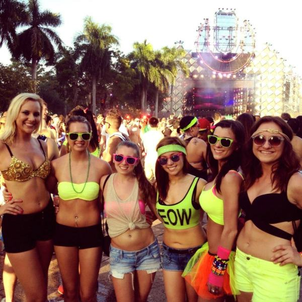 Ultra Music Festival Outfits