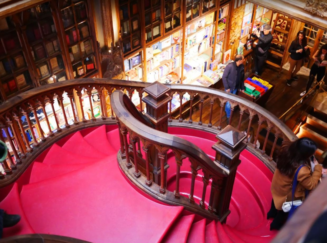 Livraria Lello | Porto's Famous Bookstore  |  What you need to know