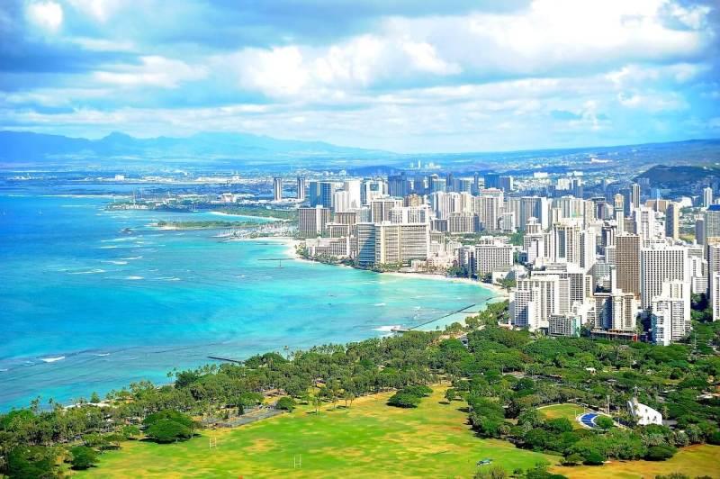 ハワイのホテル群