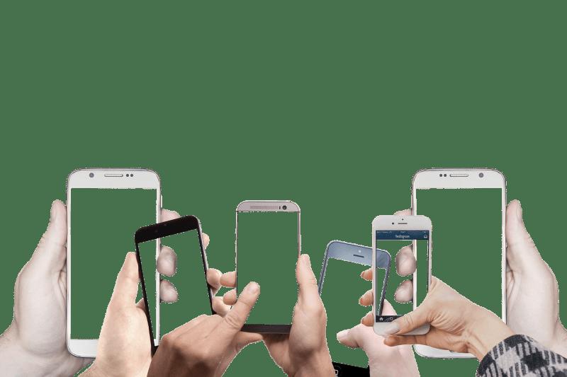 いろいろなスマートフォン