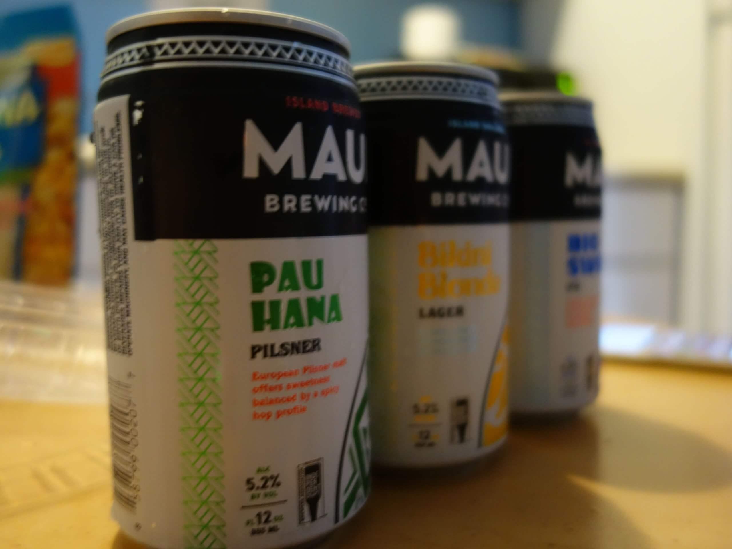 ハワイのビールたち