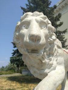 Odessa Lion Statue