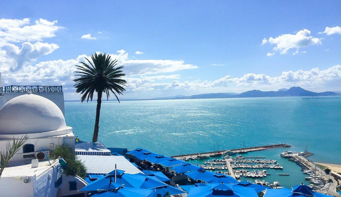 Sidi Bou Said, Tunisia. Credit: Happee Travelers
