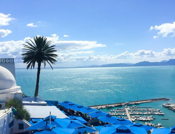 Sidi Bou Said, Tunisia. Credit: Happee Travelers