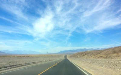 Dag 17 – Autorit door Death Valley naar Mammoth Lakes