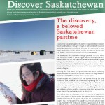 Ice fishing a beloved Sasktchewan pastime