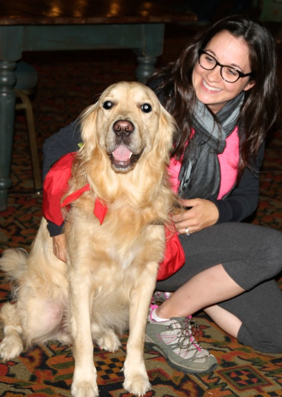 Me and Monte, Fairmont Le Chateau Montebello Canine Ambassador Dog