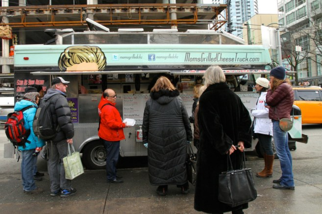 moms grilled cheese truck Vancouver food truck