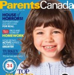 Parents Canada October Cover