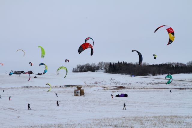 Red Bull Kite Farm Kite Boarder  Regina 6