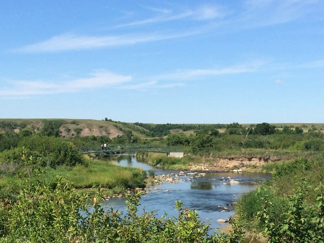 Wascana Trails view