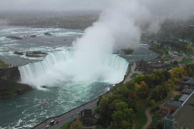 View of the Canadian Horseshoe Falls from the Skylon Tower Jenn Smith Nelson