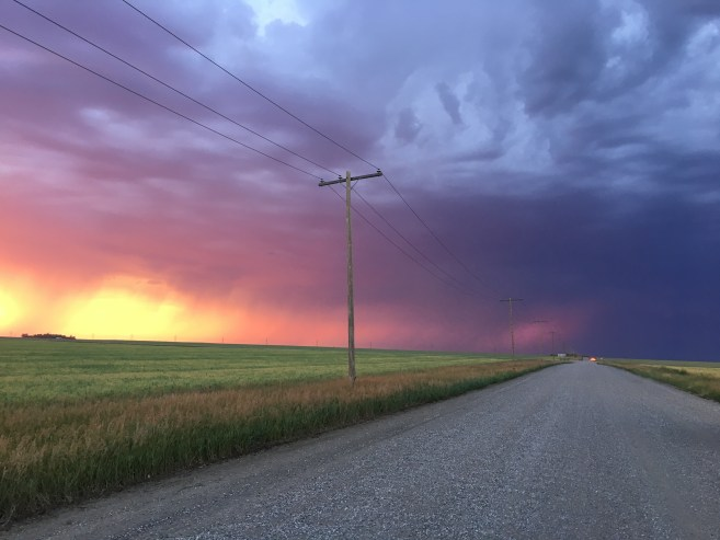 Grid road Saskatchewan Jenn Smith Nelson