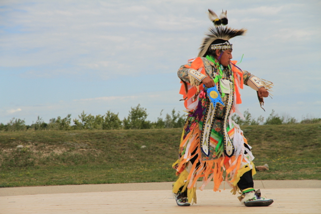 Wanuskewin Heritage Park Dancer Jenn Smith Nelson