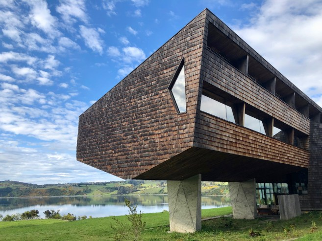 Incredible architecture at Tierra Chiloé, Chile Jenn Smith Nelson
