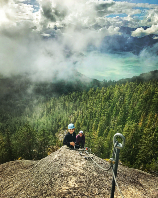 Via Ferrata, Squamish, B.C. Jenn Smith Nelson