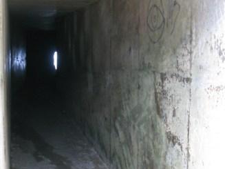 Geo Caching in the tunnel-fun