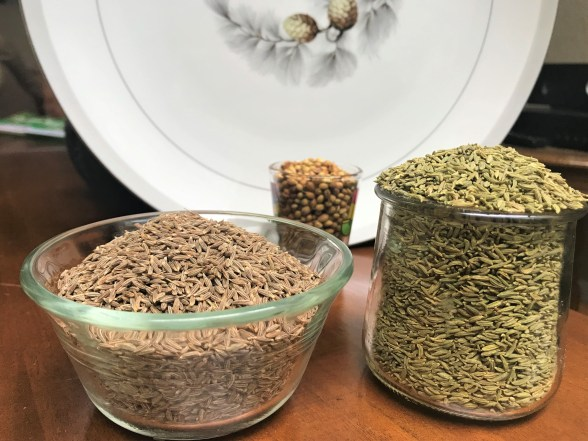 Natural Home Remedies for PCOS and Hypothyroidism.  Fennel seeds, Coriander seeds and Cumin seeds for PCOS and Hypothyroidism.how to lose weight with pcos and hypothyroidism, best diets for weight loss with hypothyroidism and pcos. indian home remedies for pcos
