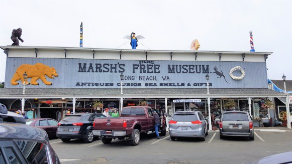 Marsh's free Museum.  Washington State International Kite Festival, Long Beach , Washington , USA