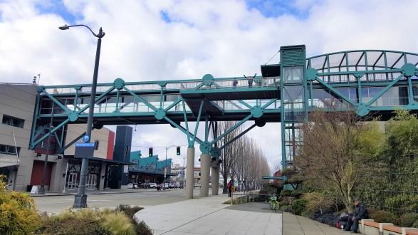 Bell Street Harbor Pier Walking Bridge, Places to visit in Seattle