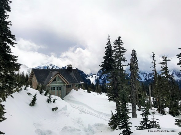 Beautiful views on Nisqually Vista trail at Paradise, Mount Rainier NPS.  Park at lower Parking lot at Paradise