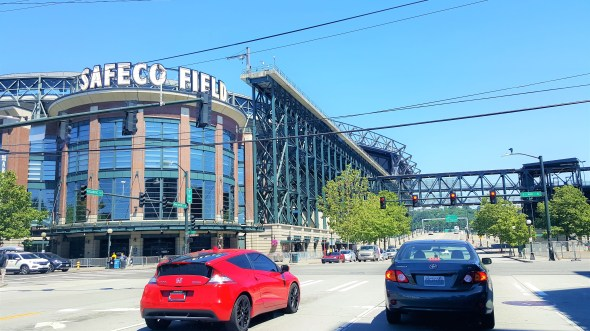 View of Safeco Field from outside on Lovely Sunny Day in Seattle Must Visit  Attractions in Seattle Washington