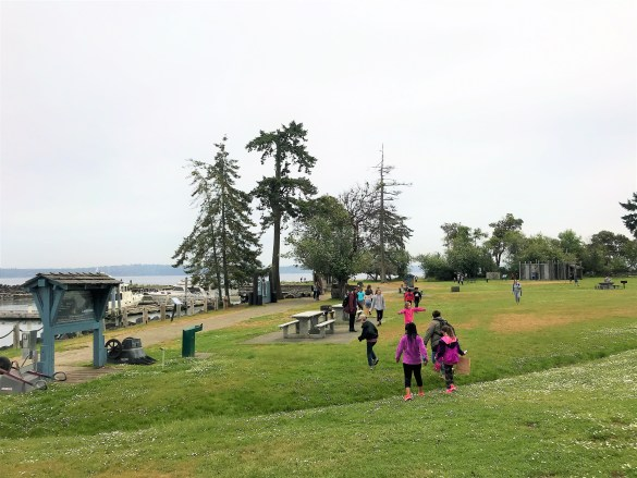 Playarea and Beach area at Tillicum Excursion