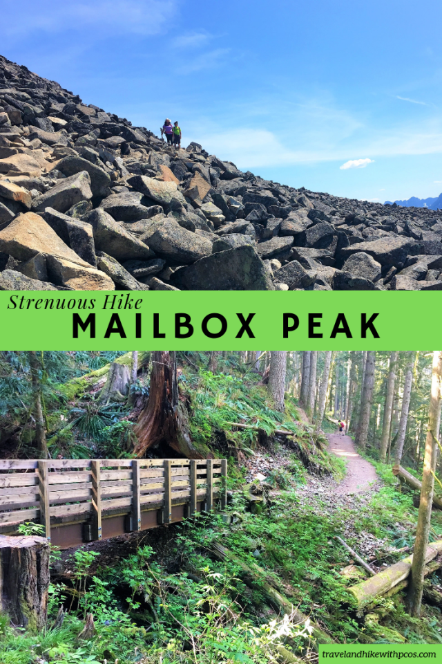 Hard Strenuous Hike of Mail box Peak